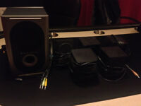 Altec Lansing 251 5.1 surround sound speakers (used)