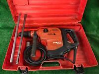 Hilti TE 80 ATC AVR Breaker / Hammer Drill 110v Plus New Chisels