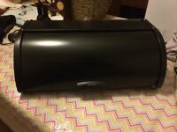Brabantia Roll Top Bread Bin - Matt Black