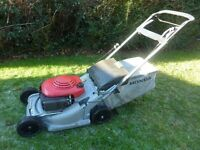 Honda 475 self propelled petrol mower around £800+ new