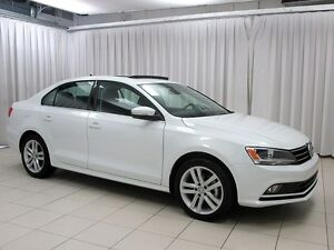 2015 Volkswagen Jetta VW CERTIFIED! Almost New! Highline! Leathe