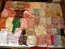 Assorted 3-6 Month Girl Baby Clothes Bundle