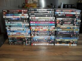 Mixed lot approx 100 good condition DVDS's, Amble collection