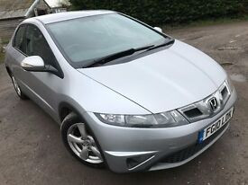 2010 Honda Civic 2.2CDTI New Mot March 2018 Good History
