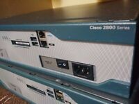 CISCO ROUTER 2851+ POWER SUPPLY FULL WORKING CONDITION USED 2800 SERIES CCNA - CCNP