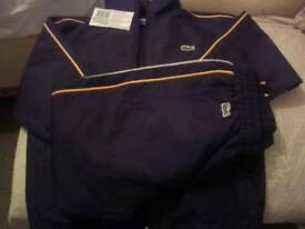 Kids Tracksuit - Lacoste - in black - age 7 to 8 years