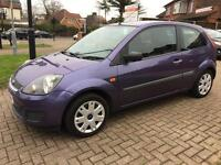 FORD FIESTA STYLE-1.2 2007,MAUVE/PURPLE,LOW MILES,3 DOORS, MANUAL,4 NEW TYRES,SINGLE OWNER,HPI CLEAR