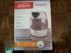 Sunbeam 3 Litre Warm Mist Humidifer