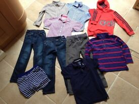 Bundle of boys clothes age 7-8 years, Joules, Adidas, M&S and high street brands