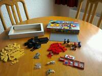 Vintage 1984 Lego Town 6373 Motorcycle Shop