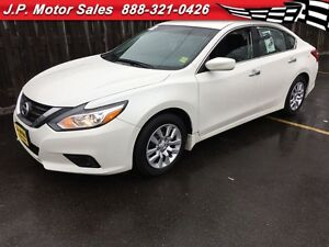 2016 Nissan Altima 2.5 S, Automatic, Steering Wheel Controls, Bl