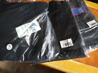 """Men's Black Workwear trousers, BNWT, size 44/46"""" and long leg, 3 pairs available"""