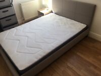 Doube bed and mattress for sale