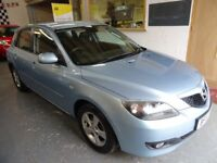 2007 MAZDA3 1.6 TS FULL AUTOMATIC, 5DOOR, HATCHBACK, DRIVES VERY NICE, CLEAN CAR, SERVICE HISTORY,