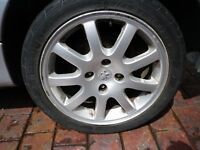 "BARGAIN 16"" Peugeot 206cc convertible ALLOY WHEEL in good condition BARGAIN only £115"