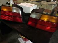 BMW E36 3 Series Rear Tail Lights Saloon