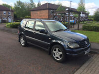 2001 mercedes ml 270 cdi auto 6 months test,cheap 4x4 £1095 ovno ideal export