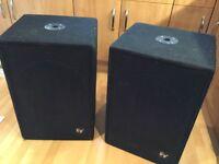 Electrovoice TL606 bass bins X 4