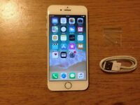 IPHONE 6 SILVER 16GB UNLOCKED £120 NO OFFERS *** ADVERT 122 ***