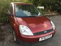 2002 Ford Fiesta 1.3 Petrol - 12 Month Mot - Hpi Clr - FSH - Drives Excellent- Bargain Clio 206 307