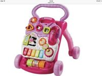 Fisher price first steps walker in pink