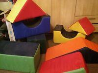large soft play shapes