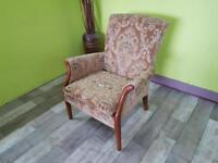 Parker Knoll Chair / Small Armchair For Reupholstery Project - Can Deliver For £19