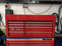 "Snap on 40"" 8 drawer top chest kra3810b"