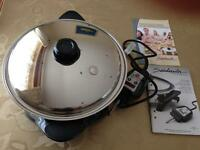 "Saladmaster Electric Skillet 12"" (Brand new )"