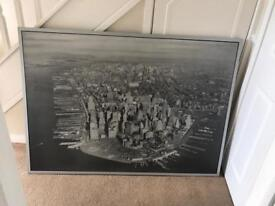 Ikea large New York canvas picture