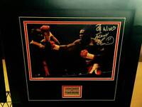 Frank Bruno picture with signature
