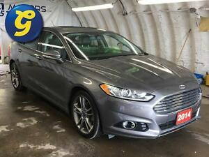 2014 Ford Fusion TITANIUM*AWD*NAVIGATION*SUN ROOF*LEATHER SEATS* Kitchener / Waterloo Kitchener Area image 2