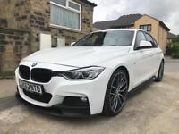 BMW 330d M Sport M Performance Auto White Sat Nav