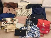 17 handbags inc Radley, Cath Kidson, Jack Wills, River Island, JohnRocha