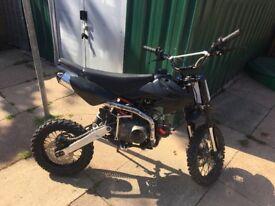 110cc lifan pit bike 4stroke 4 gears