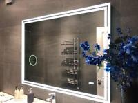 Brand New Bathroom Vanity LED De-mist Glass Mirror