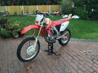 CRF 450X 2008 HONDA