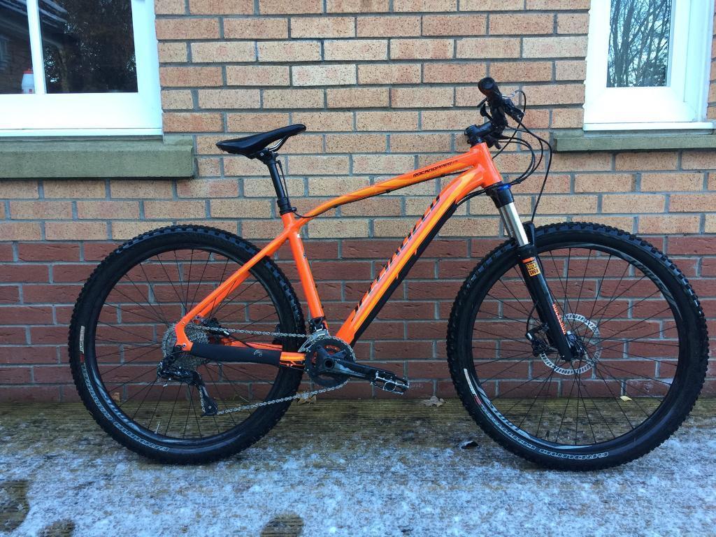 Raleigh Used Cars >> Specialized Rockhopper Pro EVO Orange Mountain Bike Hardtail 2015 650b 27.5 | in Stirling | Gumtree