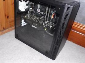 Tempered Glass Skylake i5 Gaming PC Nvidia GTX 780 Graphics With SSD