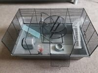 Free hamster home + accessories