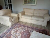 Three piece lounge furniture