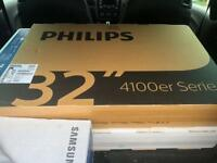 Brand new sealed Philips 32 inch HD Ready TV