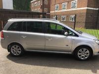 Vauxhall Zafira 2005 (55 Plate) 1.8L 7 Seater 12 Months MOT + Just Serviced.