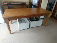 Pine Kitchen Table Approx. 6ft x 3ft