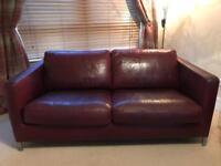 Beautiful Italian Leather sofa set