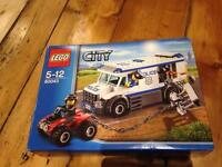 NEW Lego City prisoner transporter/police van set 60043 - in sealed box