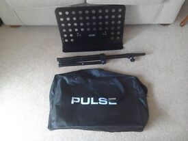 """MUSIC STAND """"PULSE"""" & CARRIER NEW/ UNUSED."""