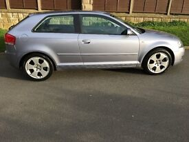 AUDI A3 2.0 FSI SPORT 150 BHP, 93900 MILES, 22ND NOVEMBER MOT, GOOD CONDITION FOR AGE