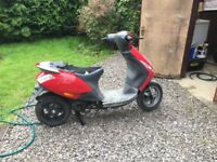 Piaggio zip 50 Insurance write off