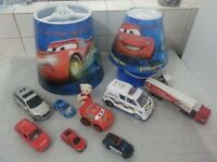 KIDS CAR THEME LAMP & CELLING SHADE.WORKING & VERY GOOD CONDITION